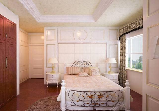 nội thất phòng ngủ biệt thự tân cổ điển 3 tầng 15x19m