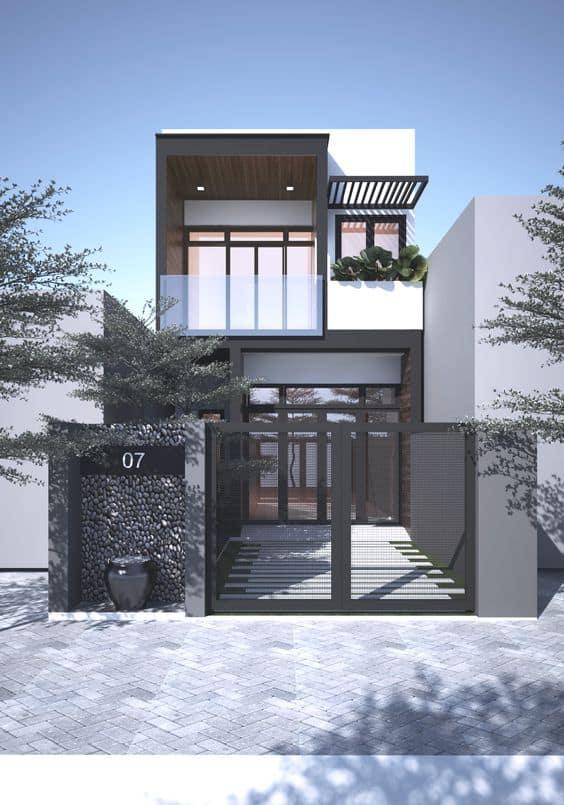 Thiết Kế Nhà 4x16 | 20+ Mẫu Thiết Kế Nhà Phố 64m2 Đẹp Nhất