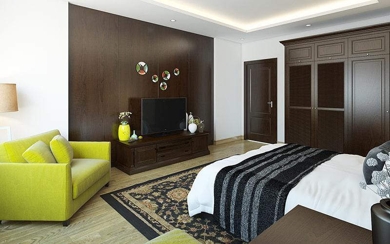 trang trí không gian phòng ngủ đẹp